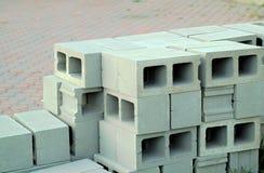 Blocos de cimento de HDR Imagem de Stock Royalty Free