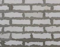 Blocos de cimento e composição ventilados porosos do cimento A cor do fundo é branca com linhas cinzentas fotos de stock