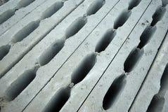 Blocos de cimento ocos Imagem de Stock