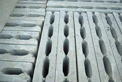 Blocos de cimento ocos Fotografia de Stock Royalty Free