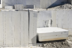 Blocos de granito imagens de stock