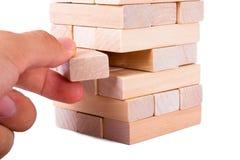 Blocos de madeira Foto de Stock