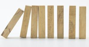 Blocos de madeira Imagem de Stock