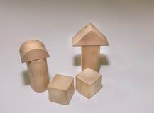 Blocos de madeira fotografia de stock royalty free