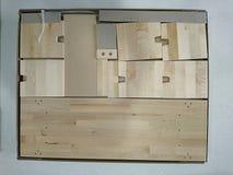 Blocos de madeira para construir Foto de Stock Royalty Free