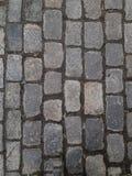 Blocos de pedra velhos de granito Fundo e textura da pedra imagens de stock