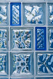 Blocos de vidro Foto de Stock