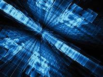 Blocos de vidro - imagem digitalmente gerada do sumário Foto de Stock Royalty Free