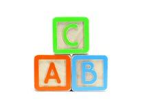 Blocos do ABC Foto de Stock Royalty Free