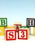 Blocos do ABC Fotos de Stock Royalty Free