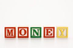 Blocos do alfabeto do brinquedo. Foto de Stock