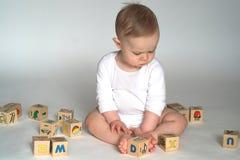 Blocos do bebê Fotos de Stock Royalty Free