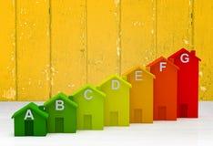 Blocos do brinquedo como a barra crescente do gráfico, infographic Fotos de Stock Royalty Free