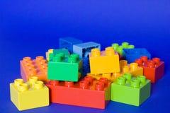 Blocos do cubo Foto de Stock Royalty Free
