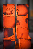 Blocos do ferro imagem de stock