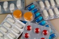 Blocos dos comprimidos Imagem de Stock Royalty Free