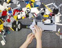 blocos Multi-coloridos Fotos de Stock