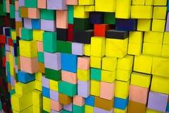 Blocos quadrados Foto de Stock Royalty Free
