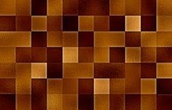 Blocos quadrados geométricos do inclinação Textura de vidro abstraia o fundo fotografia de stock