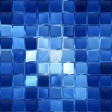 Blocs bleus Image stock