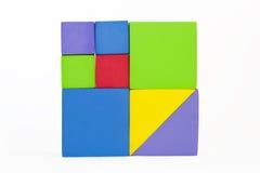 Blocs carrés Photographie stock