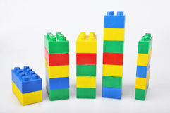 Blocs colorés Images stock