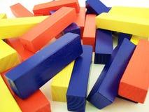 Blocs colorés 1 Photographie stock libre de droits