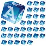 Blocs d'alphabet Photos libres de droits