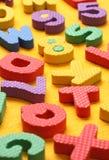 Blocs d'alphabet et de numéro Photos libres de droits