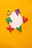 Blocs d'alphabet et de numéro Photo stock