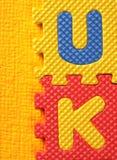 Blocs d'alphabet et de numéro Photographie stock libre de droits
