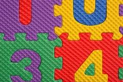 Blocs d'alphabet et de numéro Photographie stock