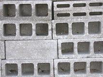 Blocs de béton gris Images stock