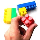 Blocs de couleur Images stock
