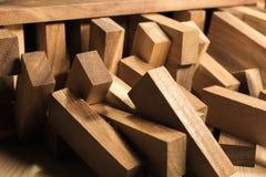 Blocs de fond en bois Photos libres de droits