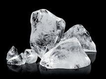 Blocs de glace photo stock