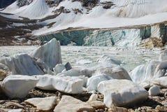 Blocs de glace et lac de glace Images libres de droits