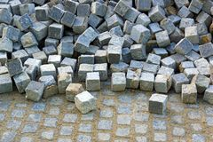 Blocs de granit photos libres de droits