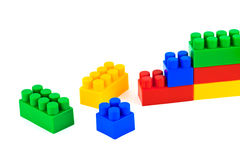 Blocs de jouet image stock