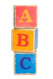Blocs de jouet Photos stock