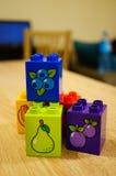 Blocs de Lego Photographie stock libre de droits