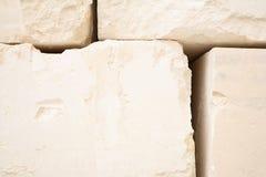 Blocs de pierre à chaux Images stock