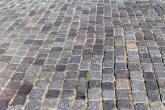 Blocs de pierre au centre de Minsk antique sur Nemiga image libre de droits