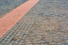 Blocs de pierre, vue d'angle Photos libres de droits