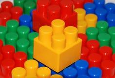 Blocs de plastique Photo libre de droits