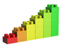 blocs du lego 3D Image stock