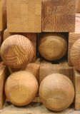 blocs en bois Photo libre de droits