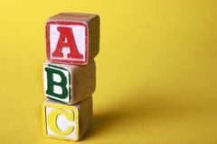 Blocs en bois photographie stock libre de droits