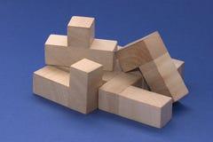 Blocs en bois photos libres de droits