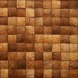 Blocs en bois empilés pour le fond Photo stock